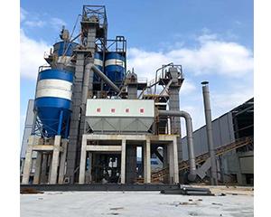 机制砂浆生产线+干混砂浆生产线